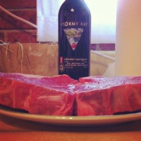 Husbandio takes his steak very seriously