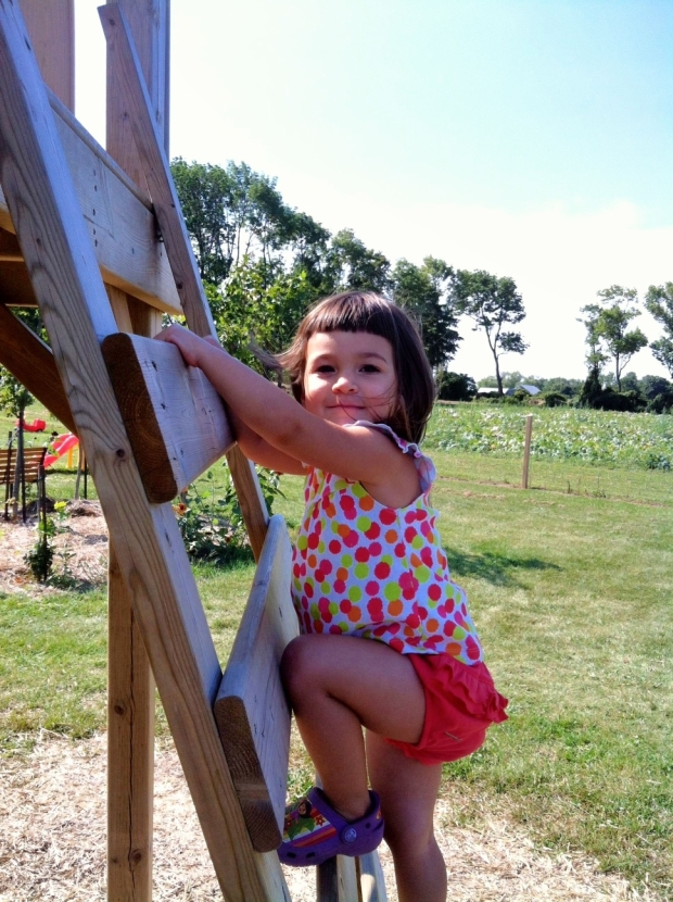 climbing, toddler