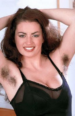 Sexy girls with hairy armpits