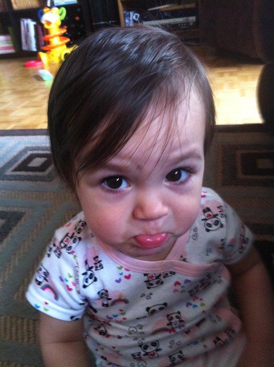 pout, sad baby
