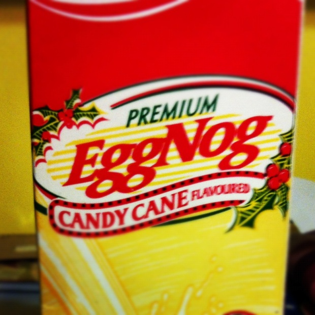 candy cane egg nog
