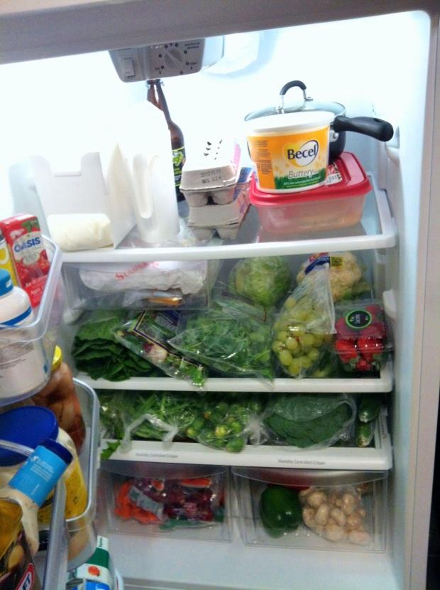 full fridge